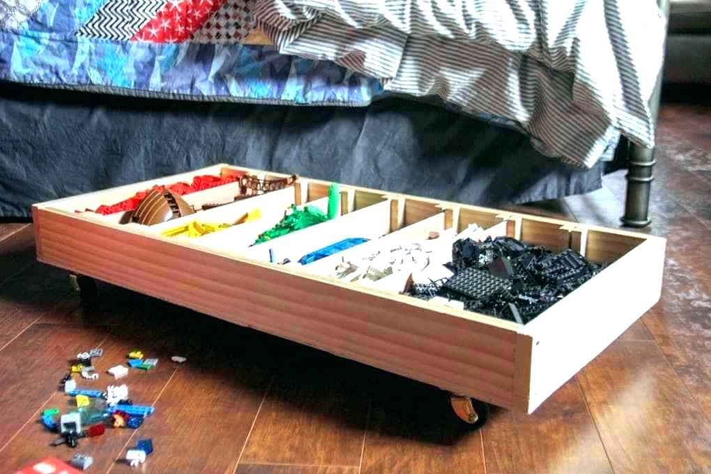 Image of: Under Bed Toy Storage Idea