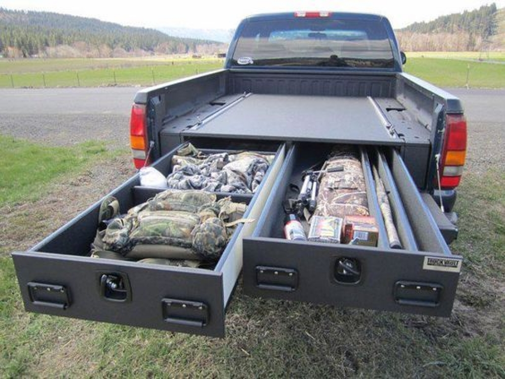 Unusual Pickup Bed Storage