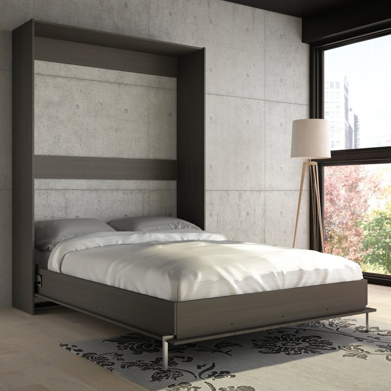 Picture of: Wall Bed with Storage Color
