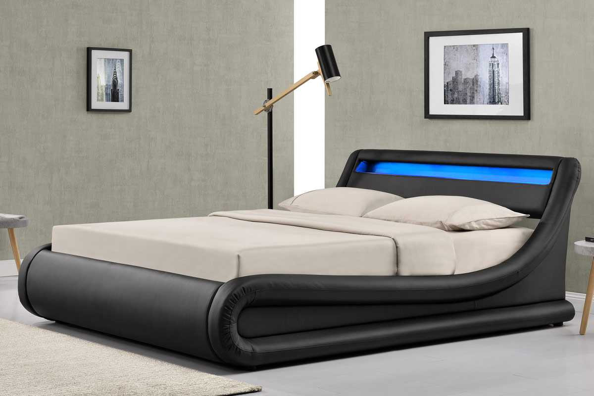 Picture of: Western Ottoman Storage Bed