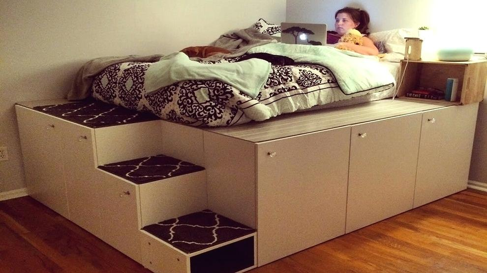 Image of: What Does A DIY Bed Frame with Storage Mean