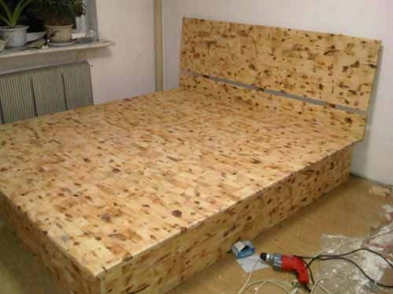 Image of: What Is A DIY Bed Frame with Storage