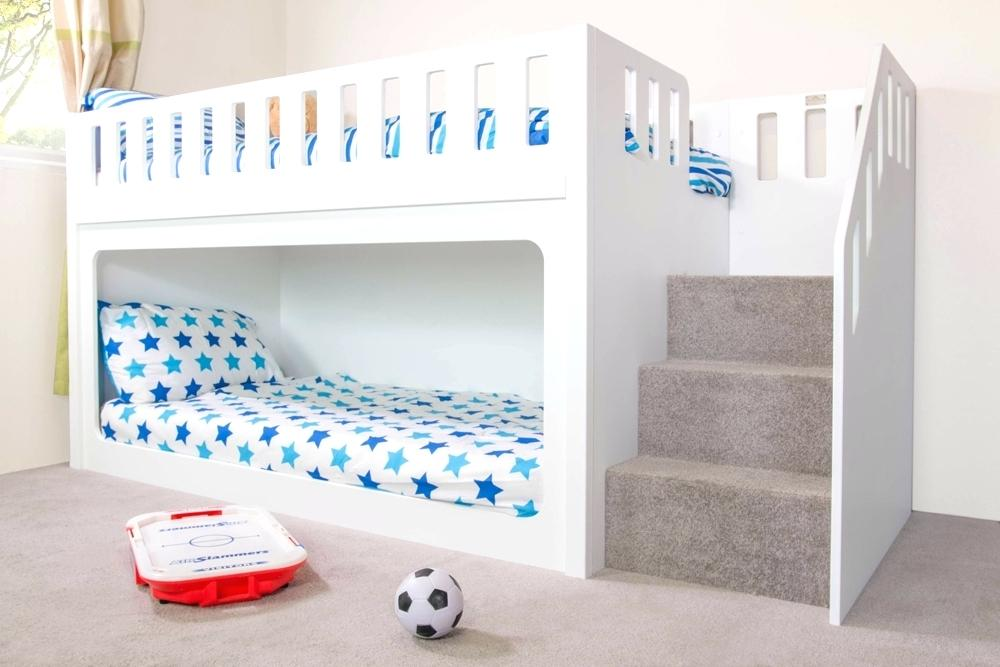 Picture of: White Bunk Beds With Storage Modern