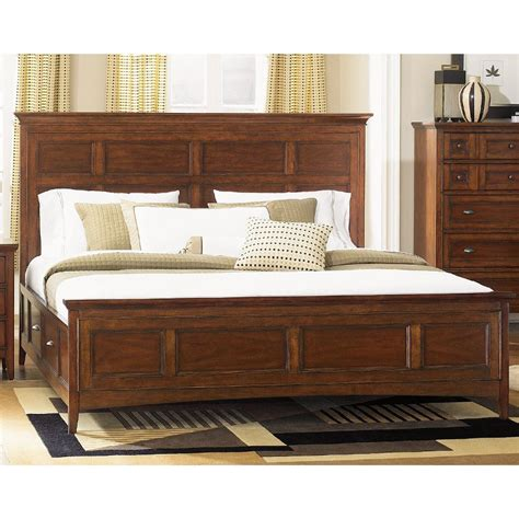 Image of: Wide Cal King Storage Bed