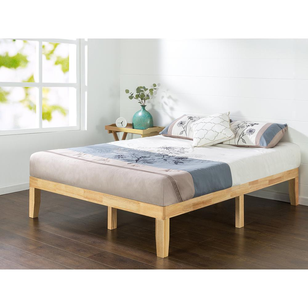 Picture of: Wood Platform Bed With Storage Design