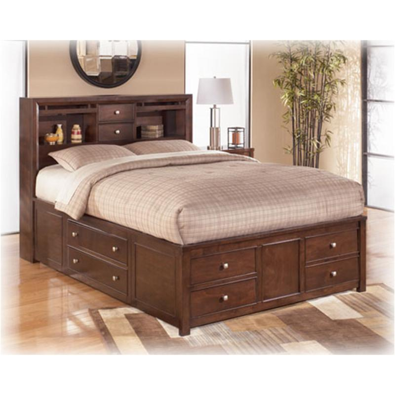 Image of: Wooden Ashley Furniture Storage Bed