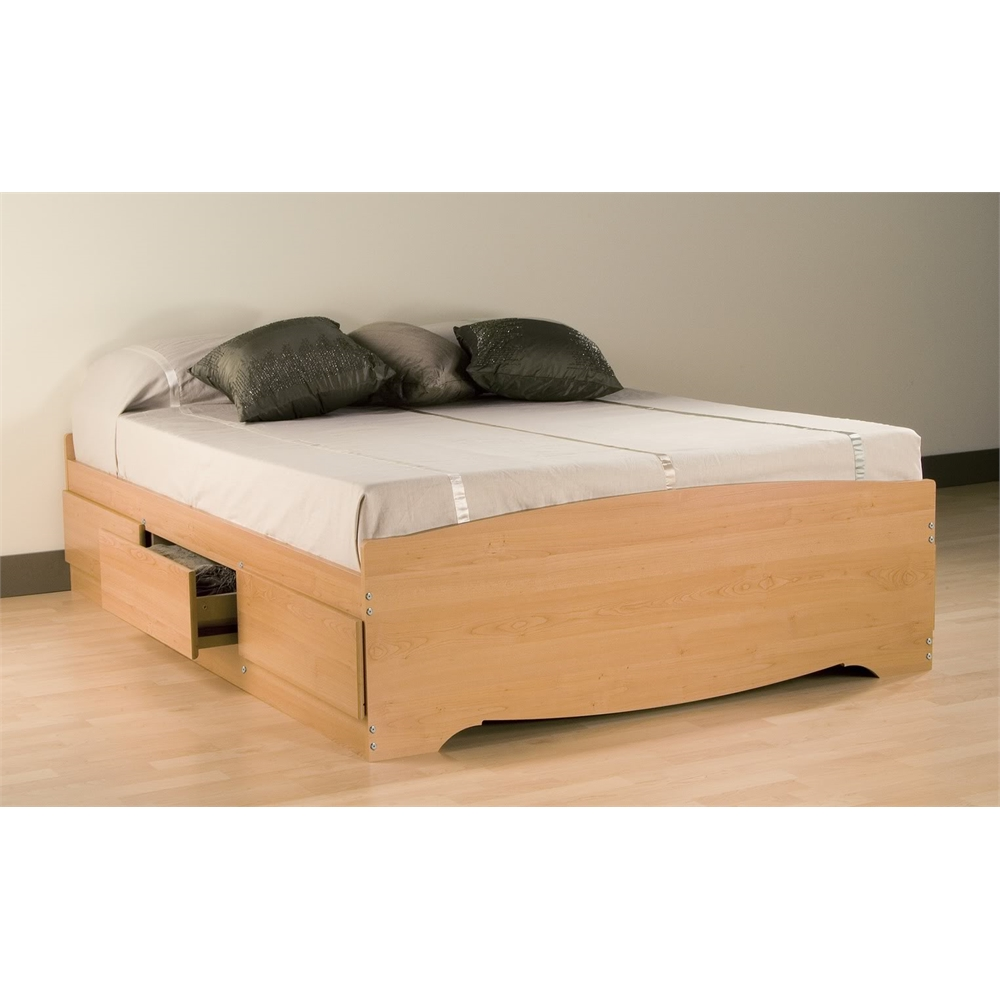Wooden Full Storage Bed