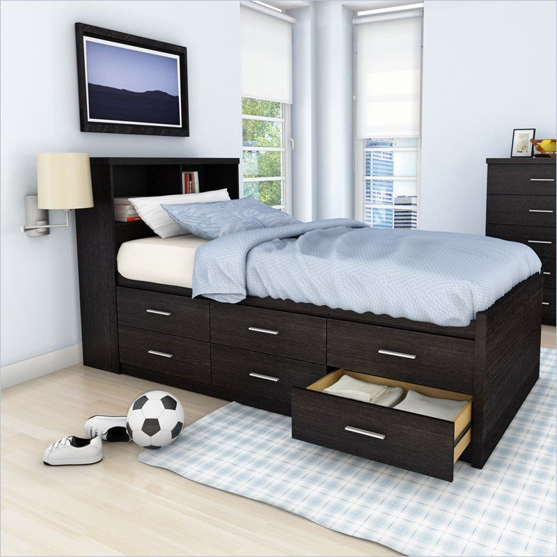 Xl Twin Bed with Storage for Adult