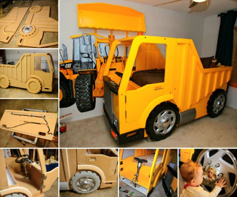 Yellow Waterproof Truck Bed Storage