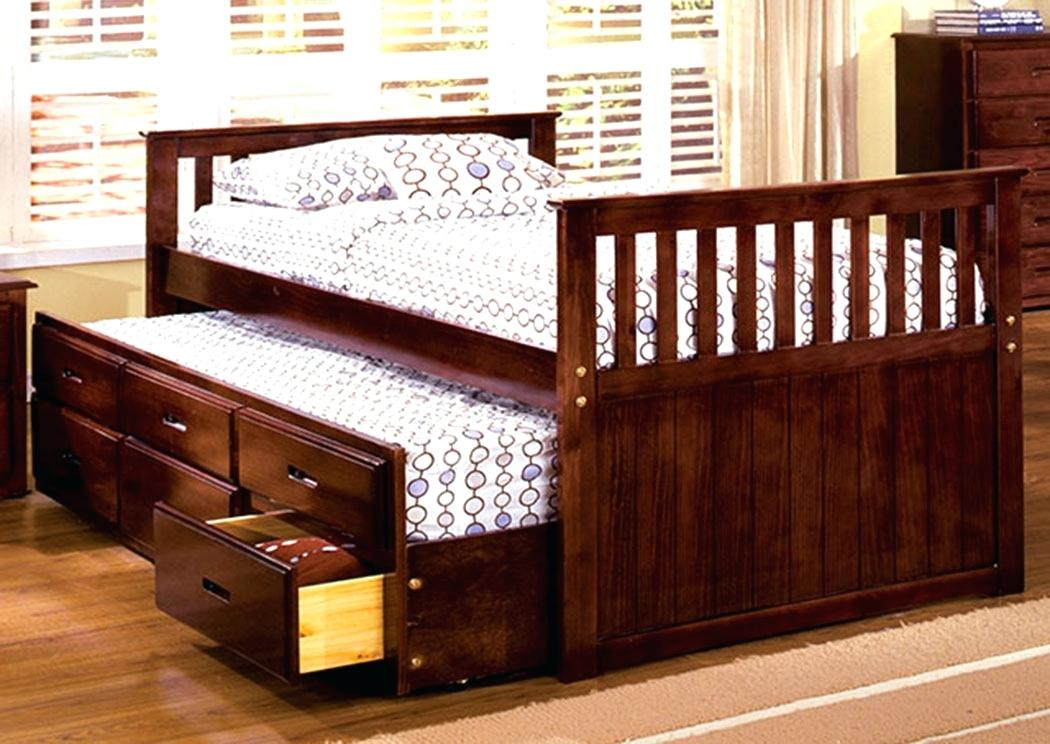 Picture of: 12 Drawer Storage Bed Queen DIY