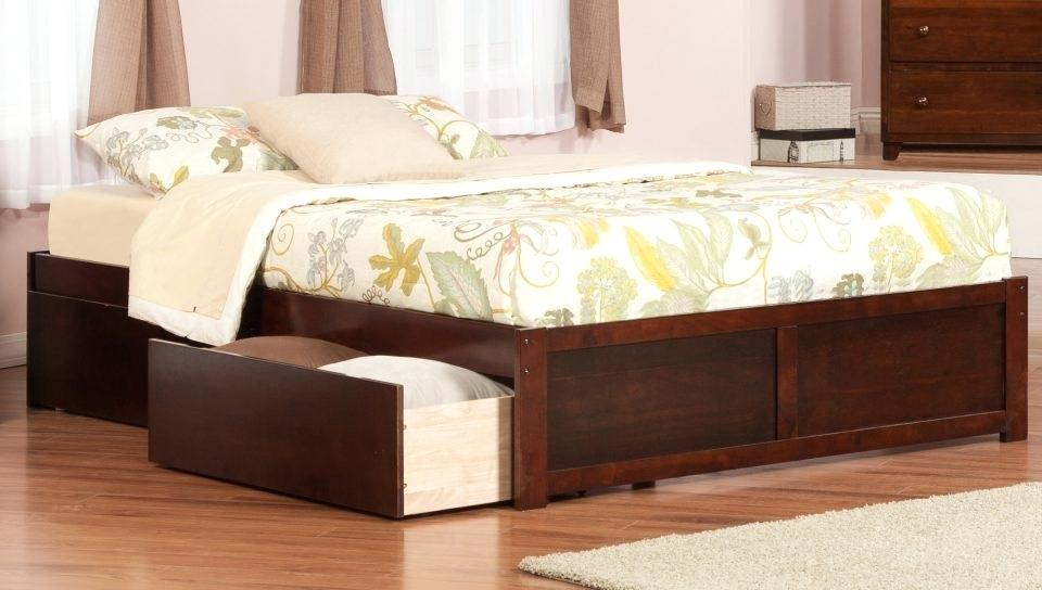 Picture of: 12 Drawer Storage Bed Queen Full Size