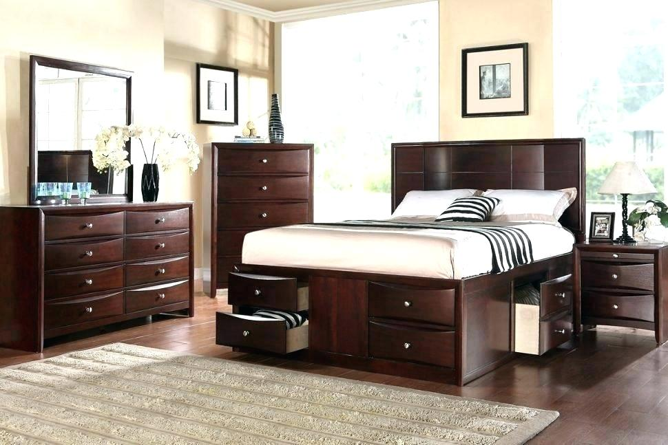 Picture of: 12 Drawer Storage Bed Queen Sets