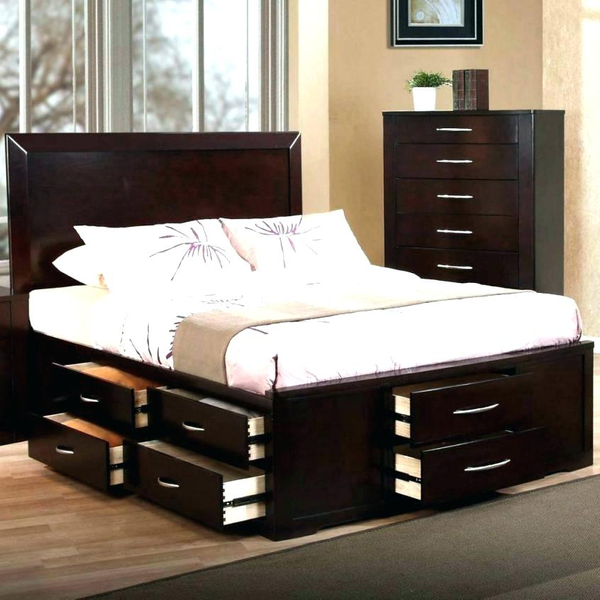Image of: 12 Storage Bed