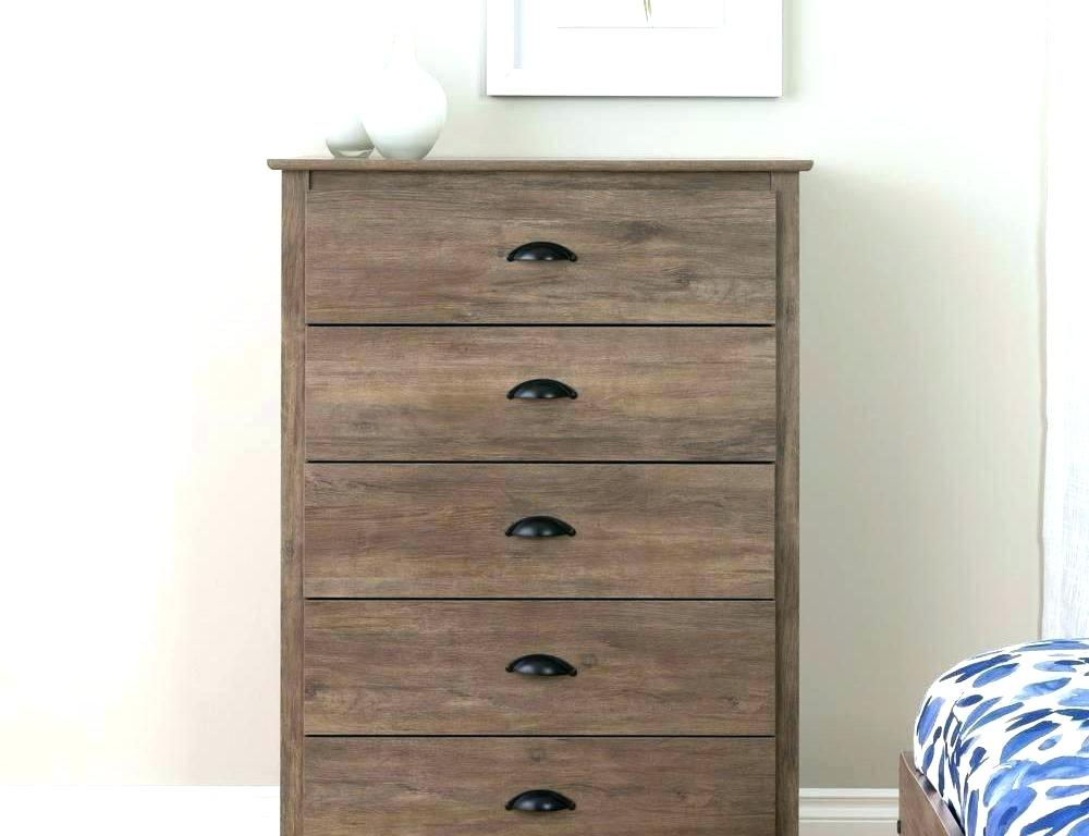 Picture of: 4 Drawer Chest Black
