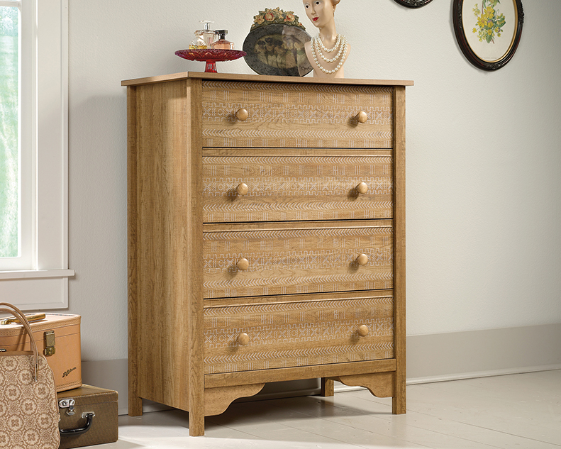Picture of: 4 Drawer Dresser Wood