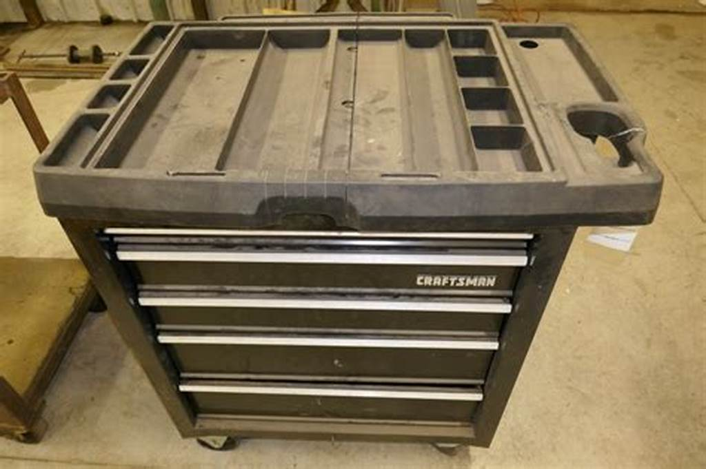 Image of: 5 Drawer Tool Chest Plan