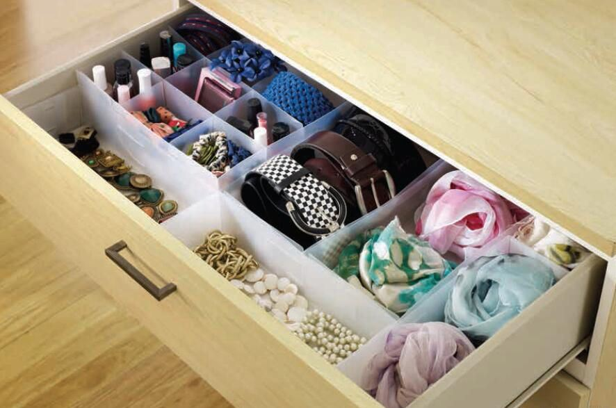 Picture of: Acrylic Drawer Organizer Ikea