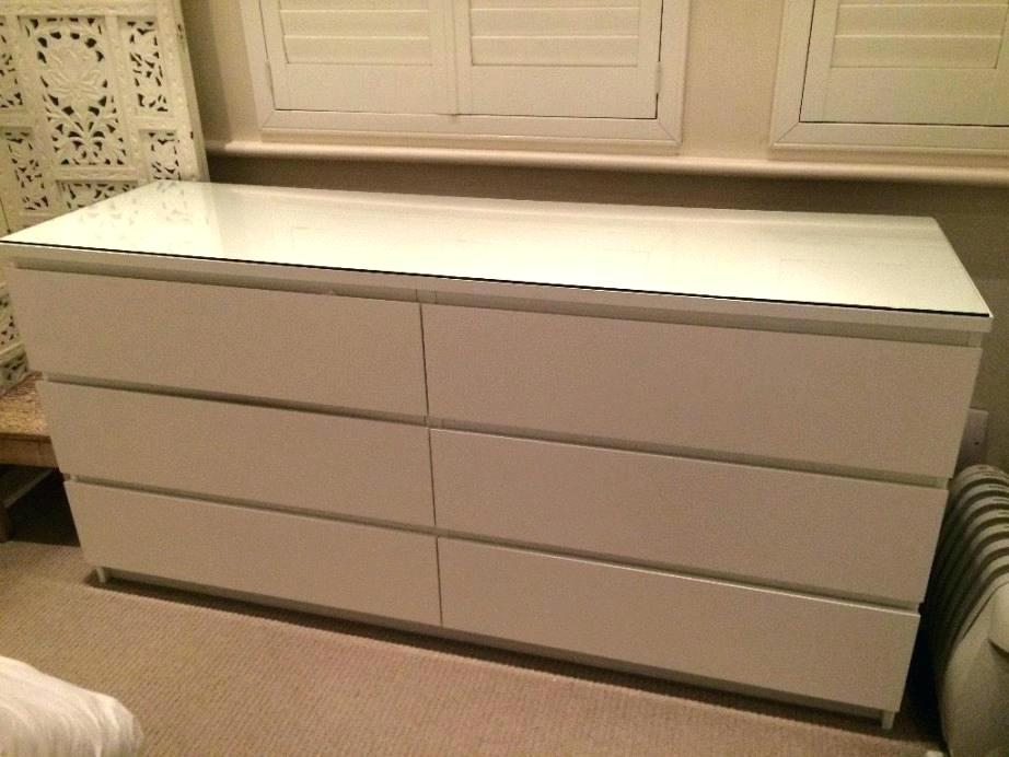 Image of: Amazing Malm 6 Drawer Chest