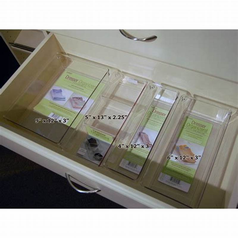 Picture of: Awesome Clear Drawer Organizer