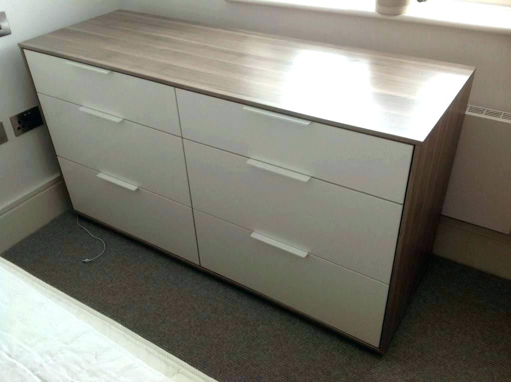 Image of: Awesome Malm 6 Drawer Chest
