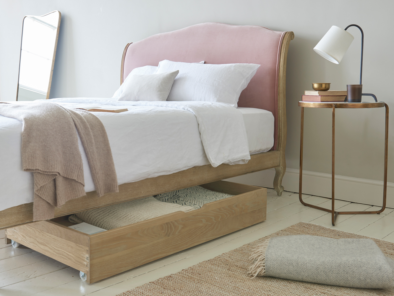 Image of: Bed Solution Storage Drawers Underneath
