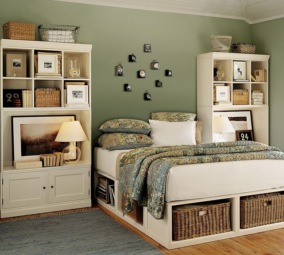 Image of: Bed Storage Drawers Box