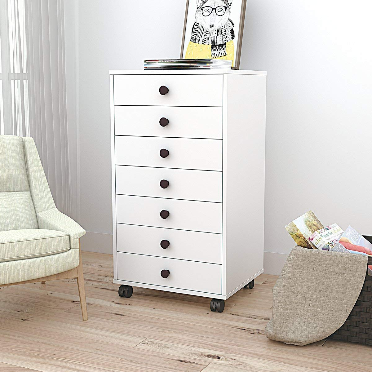 Image of: Best White Drawer Chest Design