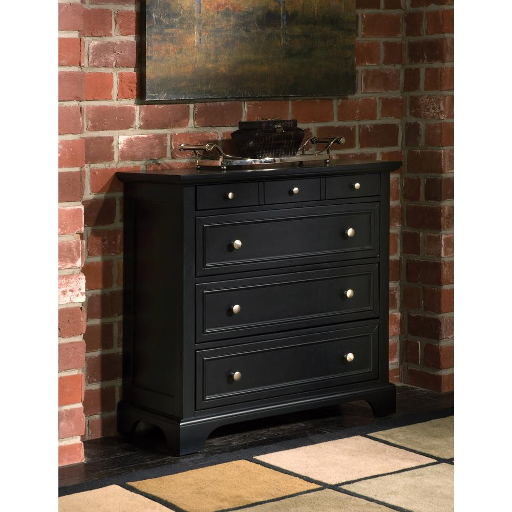 Image of: Black Drawer Chest