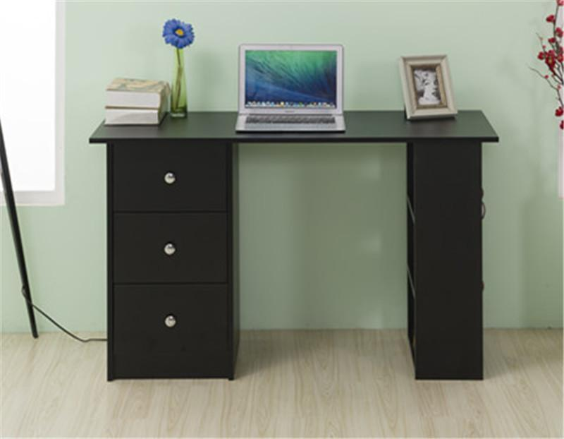 Image of: Black High Gloss 3 Drawer Chest