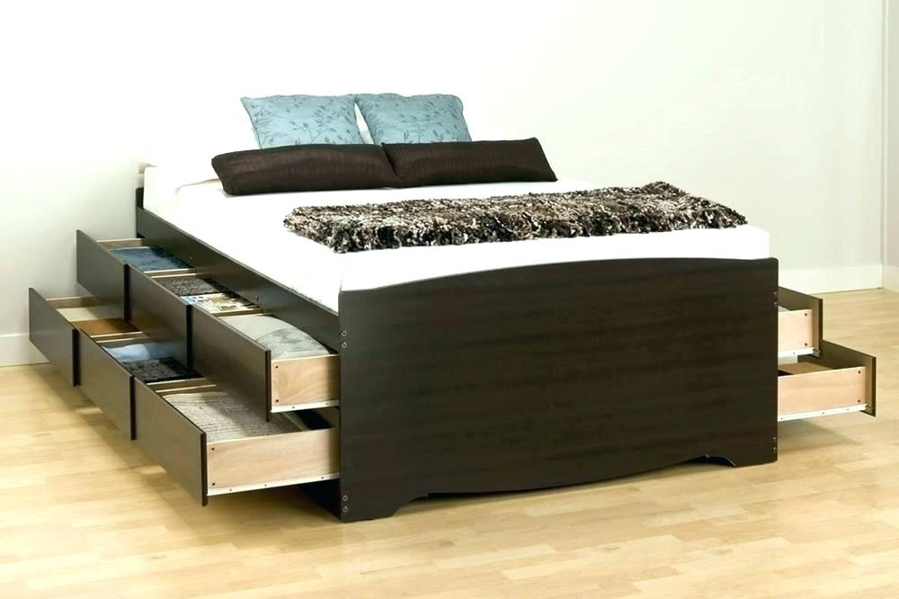 Build a 12 Drawer Storage Bed Queen