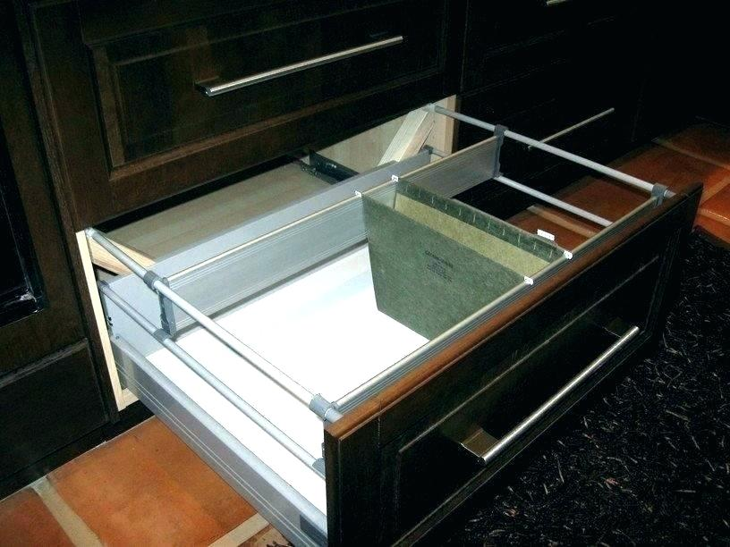 Image of: Cabinet Drawer Organizer Baskets