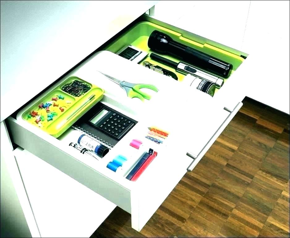 Image of: Cabinet Drawer Organizer Boxes