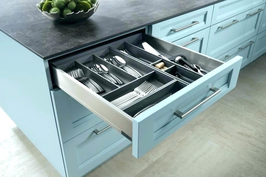 Image of: Cabinet Drawer Organizer Cabinet