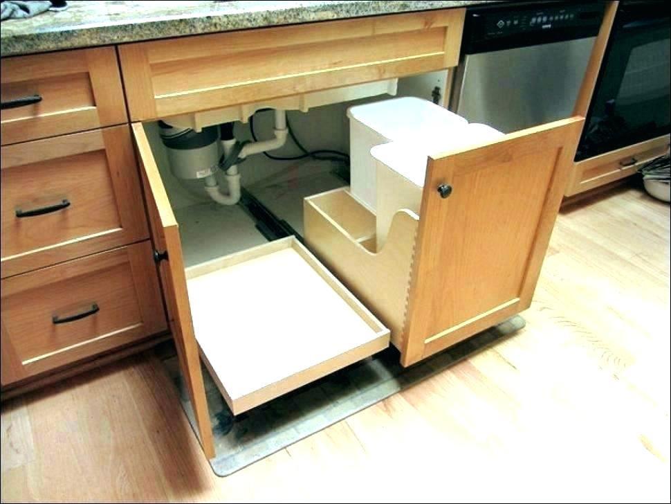 Image of: Cabinet Drawer Organizer Cart