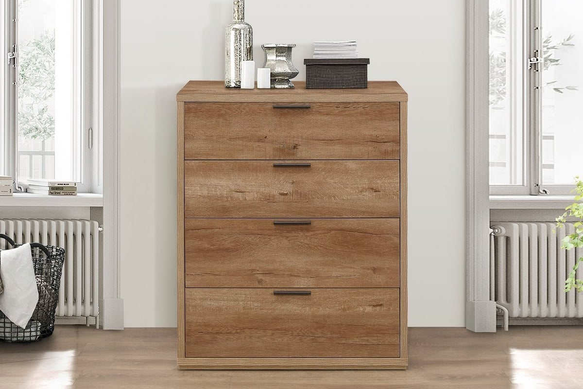 Image of: Classic 4 Drawer Chest