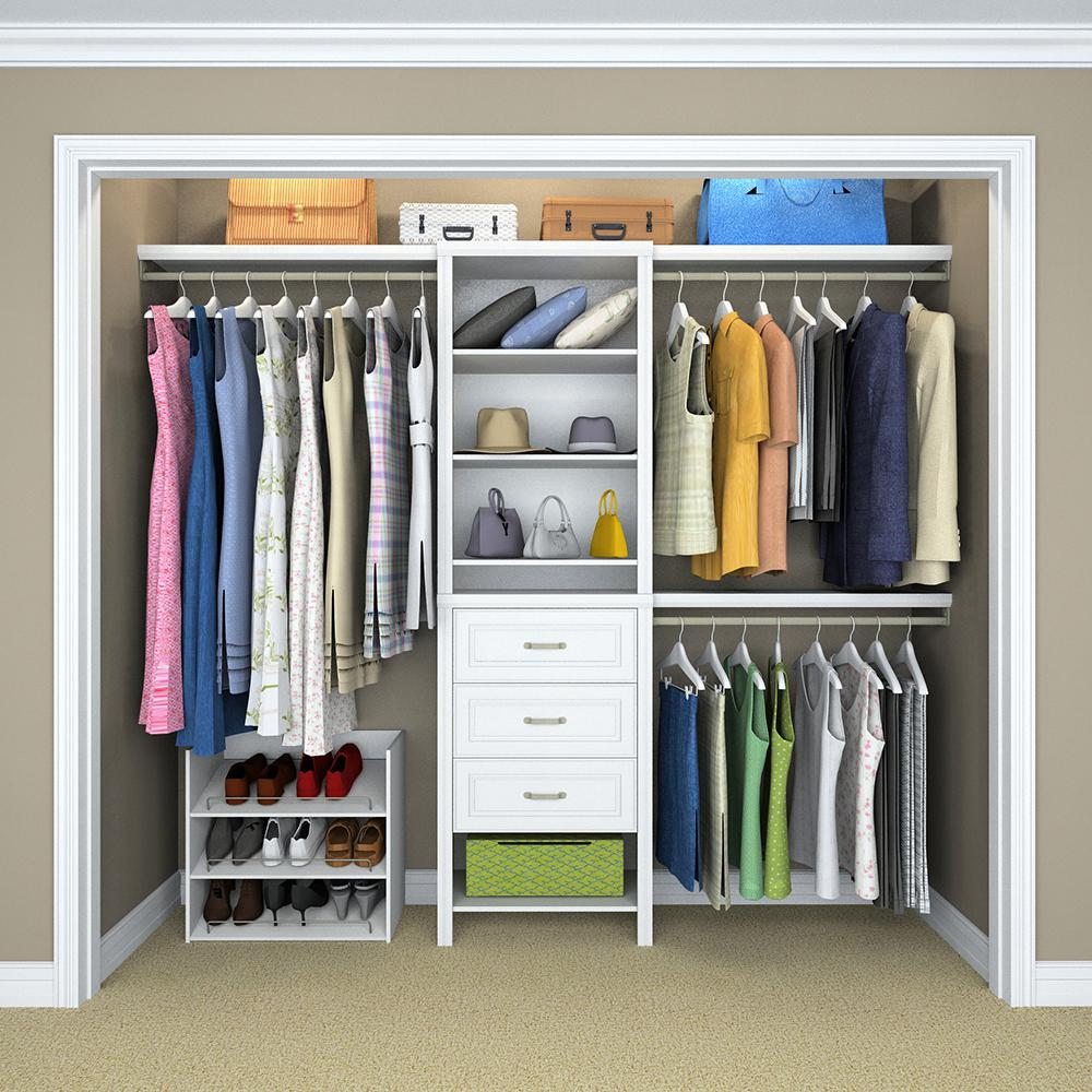 Image of: Closet Drawer Organizer Systen