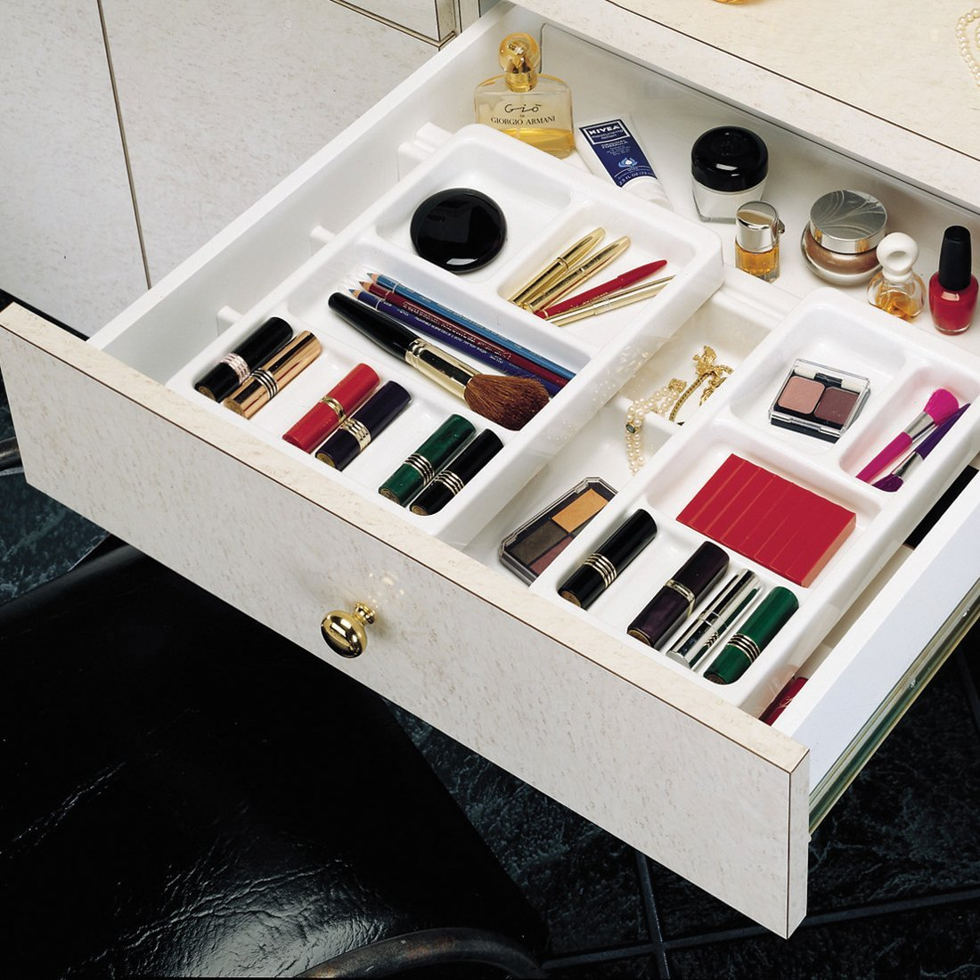 Image of: Concept Vanity Drawer Organizer