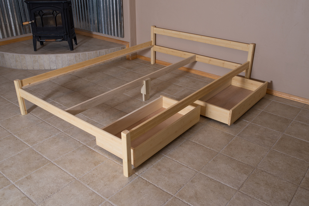 Image of: Container Store Under Bed Storage