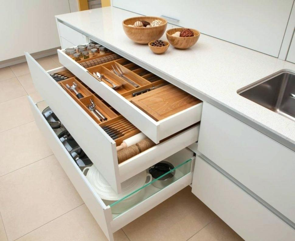Image of: Contemporary Custom Drawer Organizer