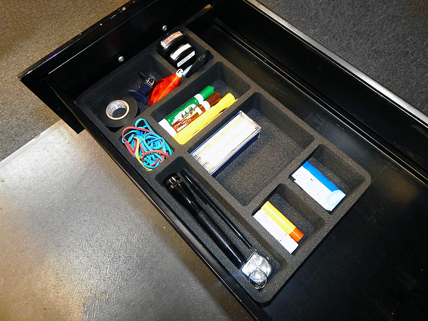 Picture of: Cool Office Drawer Organizer