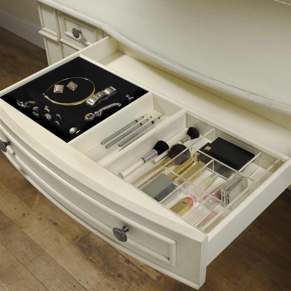 Image of: Cool Vanity Drawer Organizer