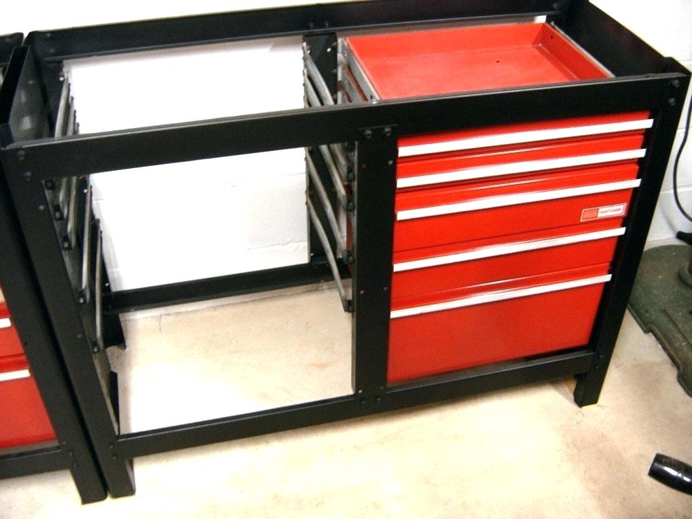 Image of: Craftsman 26.5 In. 6 Drawer Steel Rolling Tool Cabinet