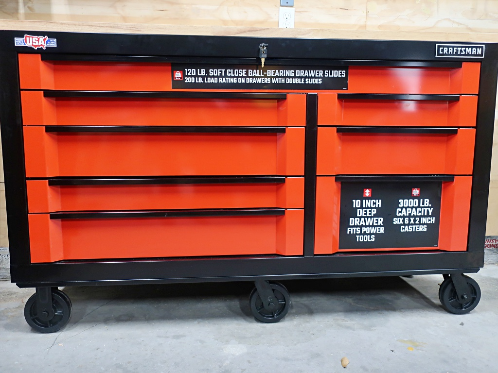 Image of: Craftsman 3 Drawer Tool Box