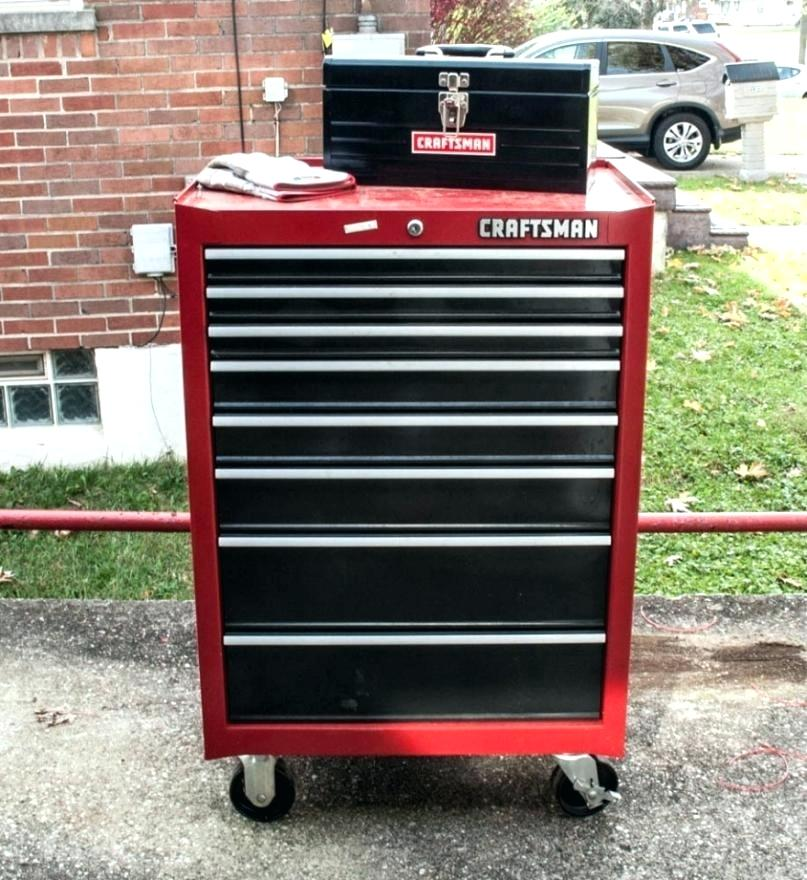 Picture of: Craftsman 4 Drawer on Wheels