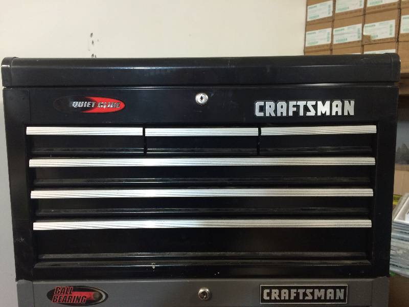 Picture of: Craftsman 6 Drawer Ball Bearing Tool Center