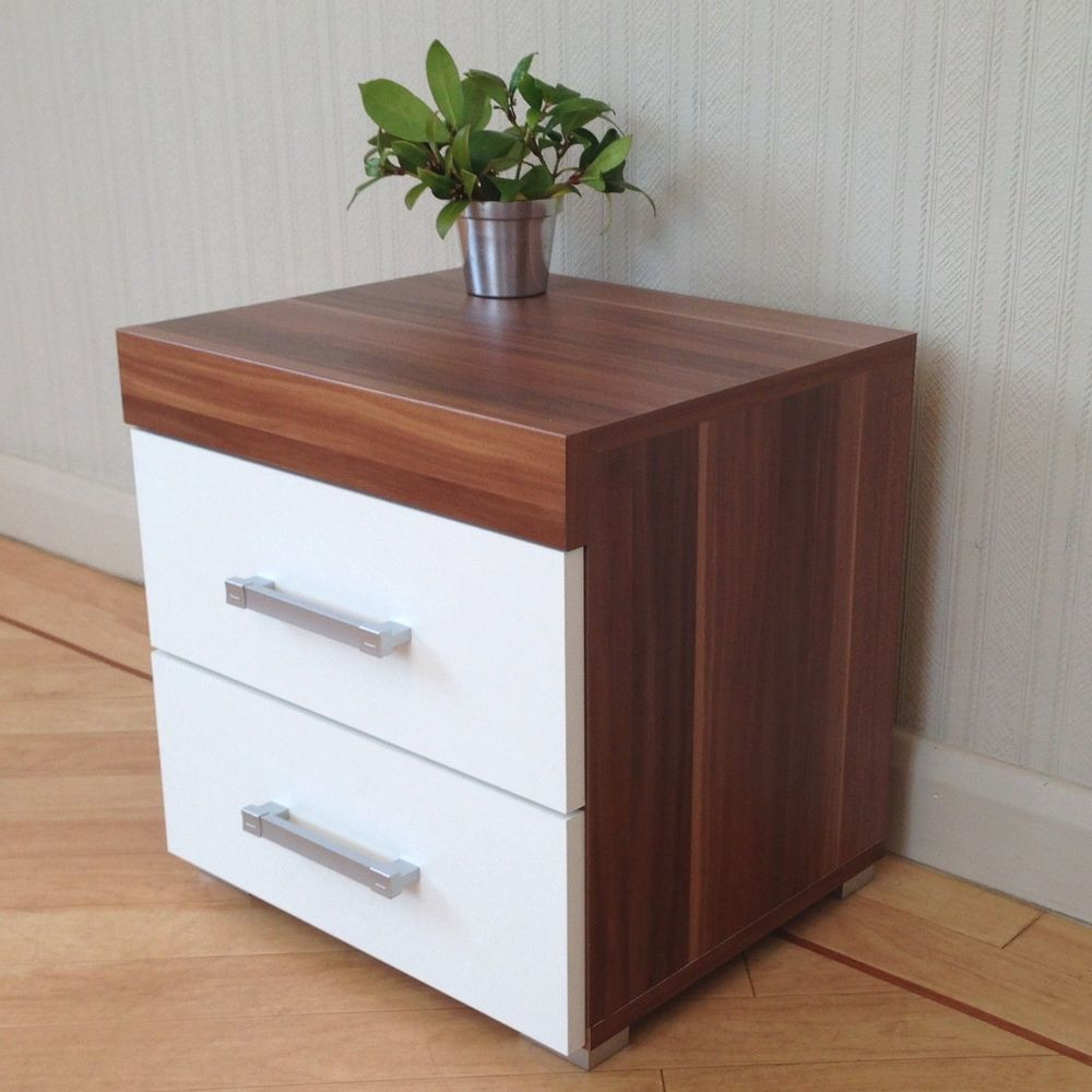 Custom Bed Side Table with Drawer