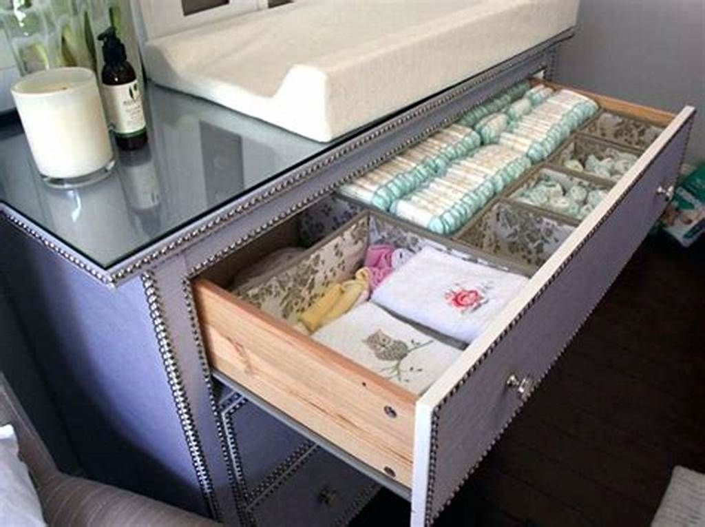 Picture of: Custom Clothing Drawer Organizer
