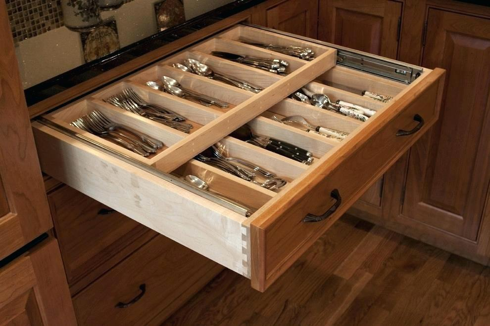 Image of: Custom Drawer Organizer Style