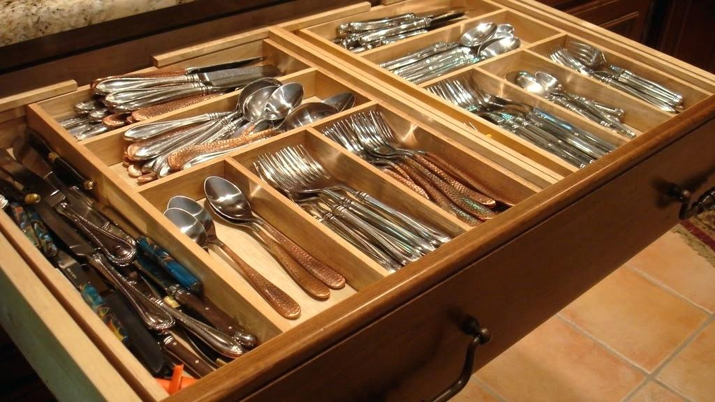 Picture of: Custom Kitchen Drawer Inserts