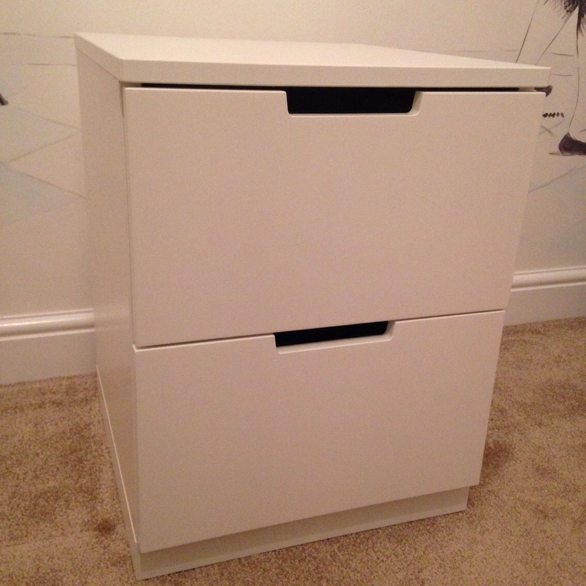 Picture of: Cute 2 Drawer Chest
